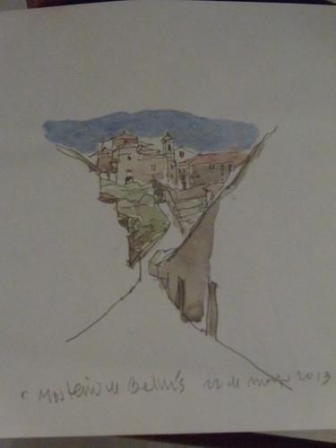 Belvís (Santiago) - Debuxo de Pablo Tomé