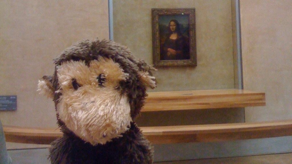 Pleepleus at the Mona Lisa