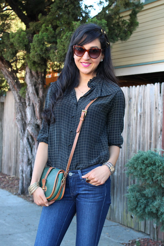 Checkered Blouse 8