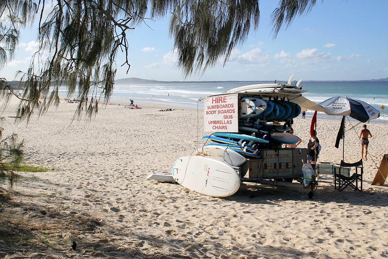 Noosa Heads Surf rental