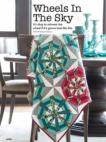 Wheels in the Sky - Mar/Apr issue of Quilty
