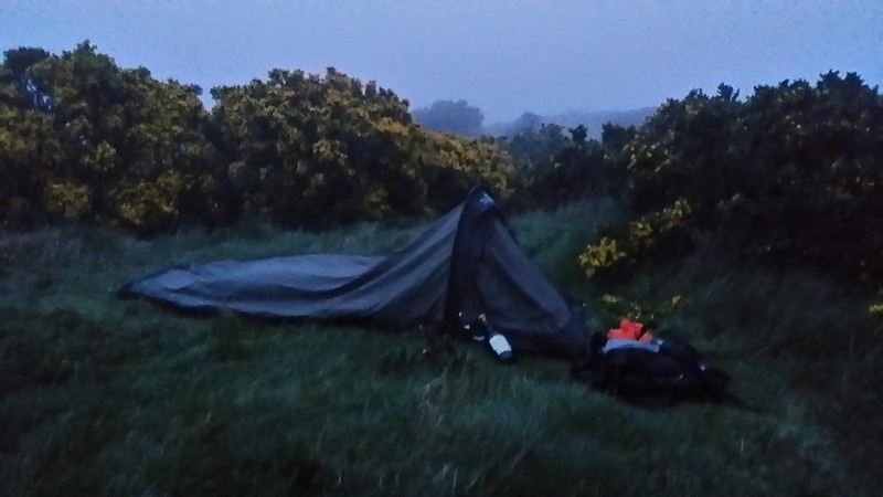 Last night's bivvy #sh