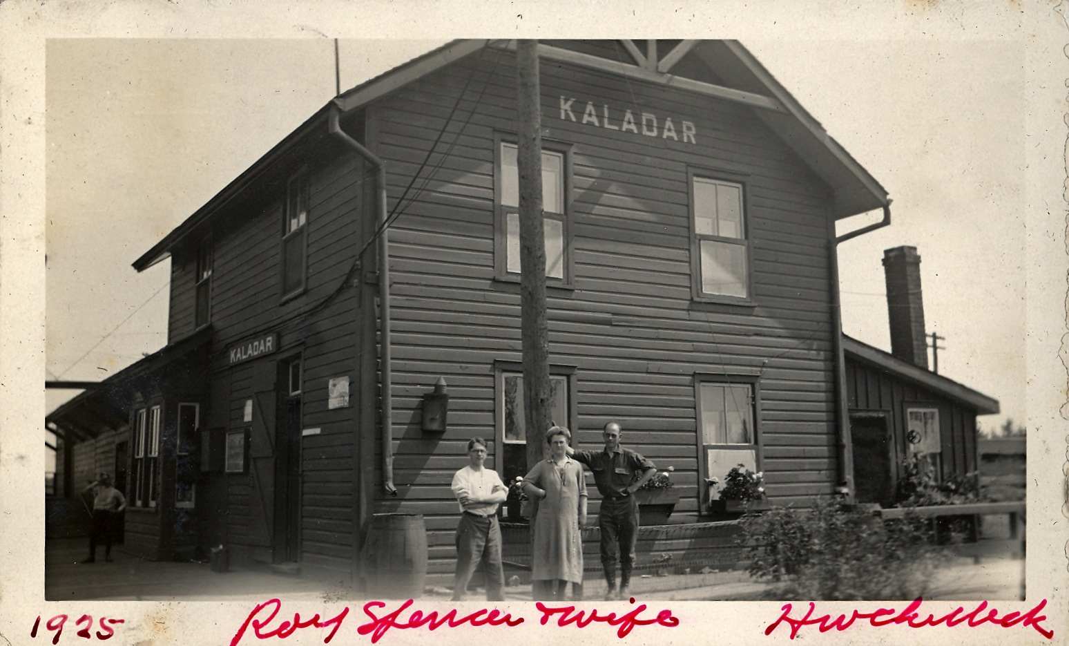 Kaladar Railway Station 1925