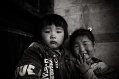 Two little girls-1(B&W)