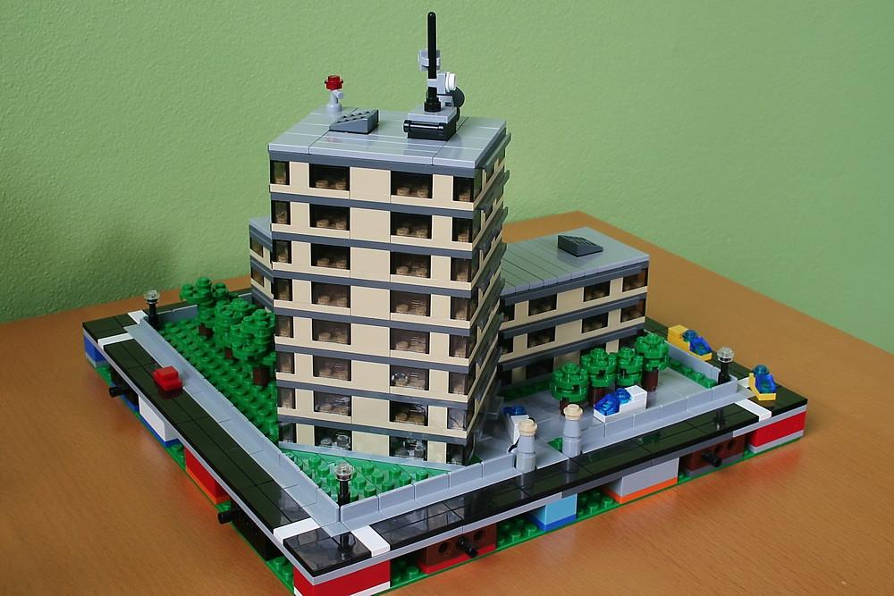 Лего постройки