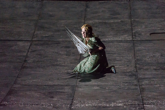 Adrianne Pieczonka as Senta in Der fliegende Holländer © ROH 2015. Photo by Clive Barda