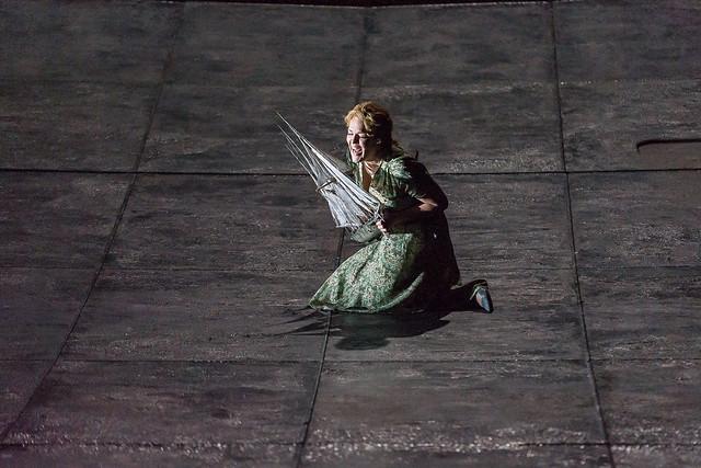 Adrianne Pieczonka as Senta in Der fliegende Holländer © ROH 2015. Photo by Clive Barda