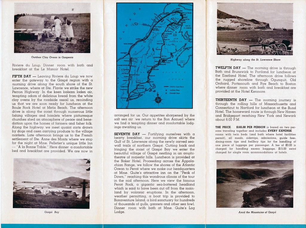 Gaspe Tauck Tours 04 | William Bird | Flickr