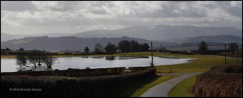 lake mountains pool countryside breconbeacons lane powys brechfa