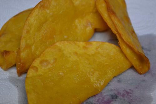 DIY crispy taco shells