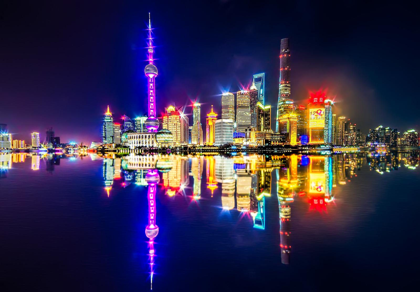 Shanghai Shanghai Tower 632m 2073ft 128 Fl Com