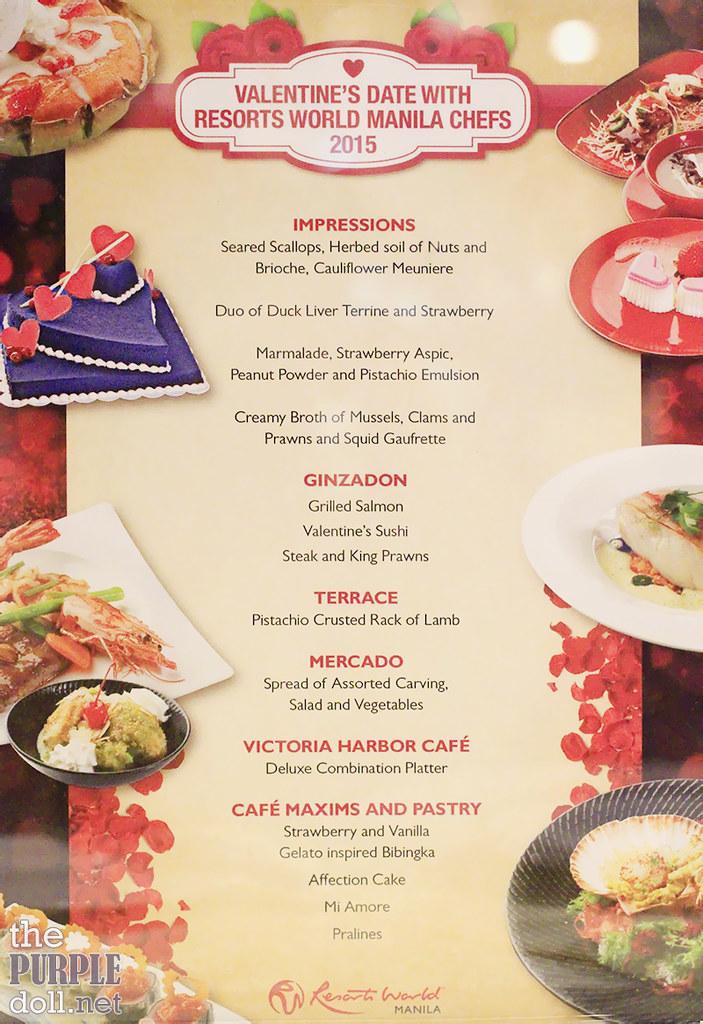 Valentine's Date with RWM Chefs 2015