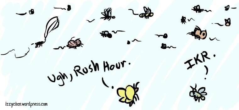 billion bug highway ugh rush hour ikr
