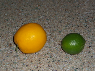 L is for Lemon and Lime