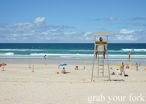 Lifeguard at Kurrawa Beach, Gold Coast