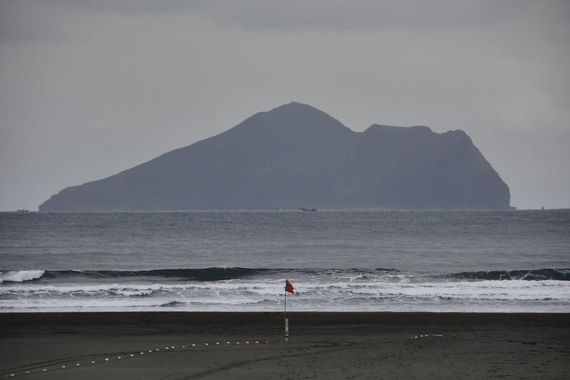 外澳遠眺龜山島