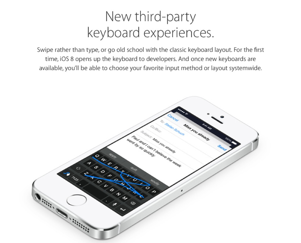 Swifkey | iOS 8 Third Party Keyboards