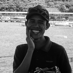 Mr Ray Bon. #indonesia #blackandwhite