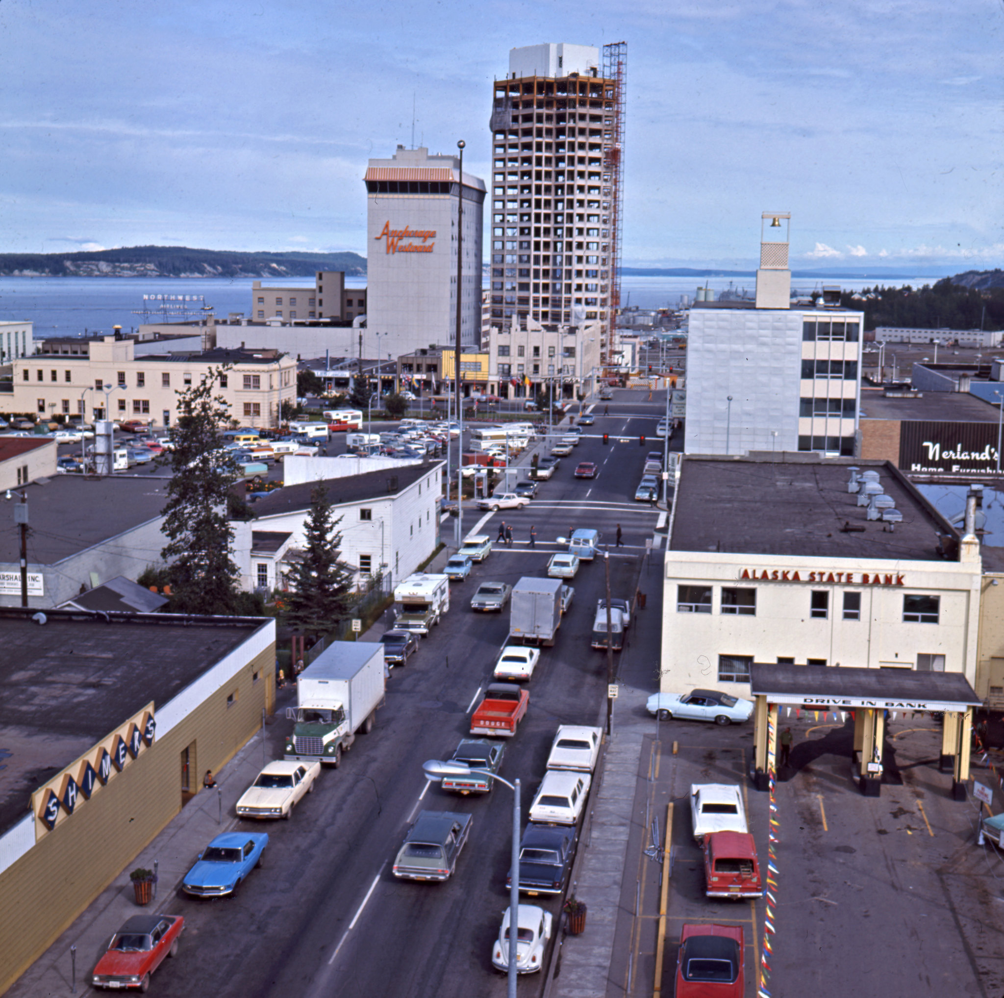 Color art anchorage - Arr Anchorage Alaska C 1968