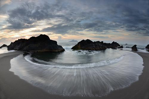 sea sunrise taiwan 台灣 海 宜蘭 龜山島 頭城 外澳