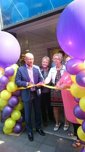 70mm Geel Lint Opening Buurthuiskamer Zuidwest Spijkenisse