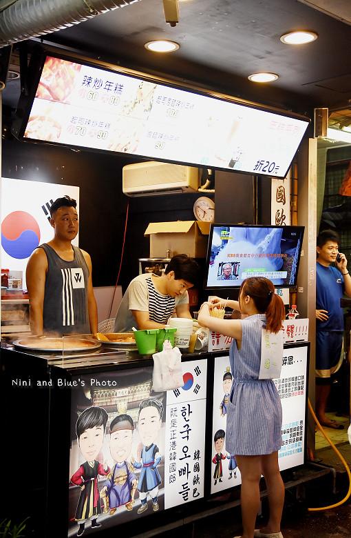 逢甲夜市美食小吃冰飲料韓國白雲餅乾26