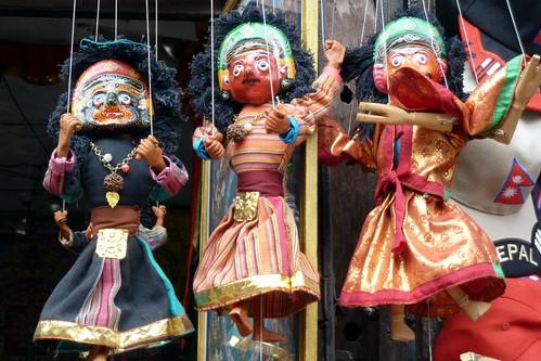 Nepal - Kathmandu - Puppet On A String - 20
