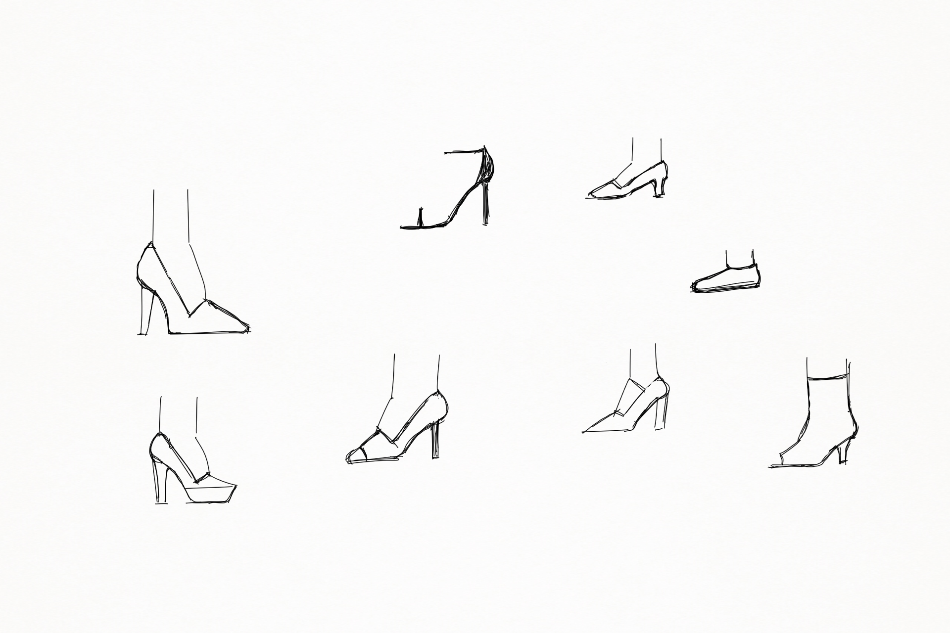 Shoe Sketches page1