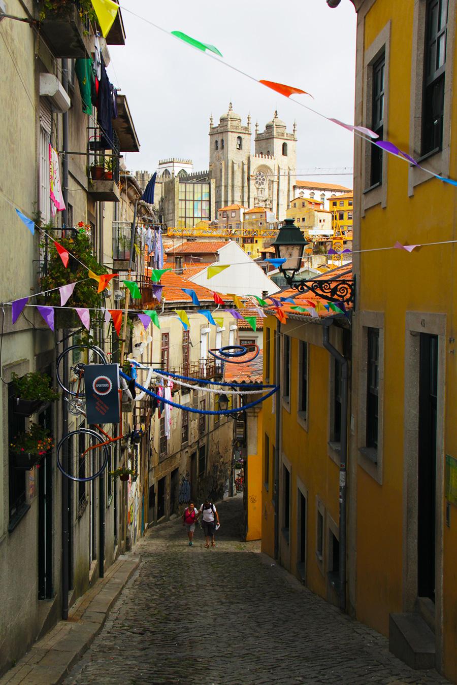 Porto kylänraitti