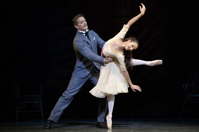 Francesca Hayward and Gary Avis in The Invitation © ROH 2016. Photograph by Andrej Uspenski