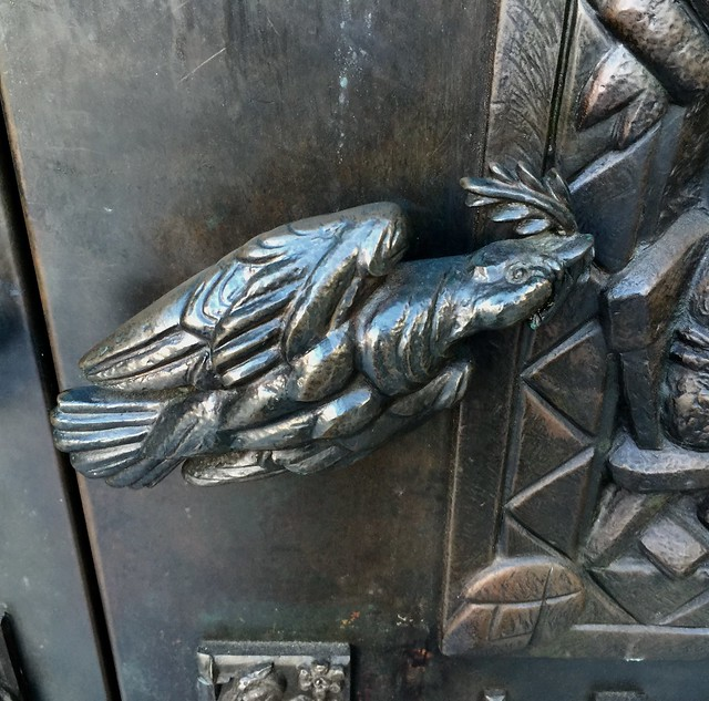 Door handle at Grace Cathedral