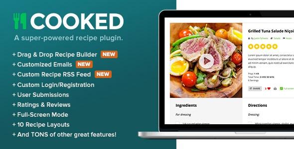 Cooked v2.4.1 - A Super-Powered Recipe Plugin
