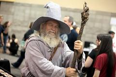 Gandalf cosplayer