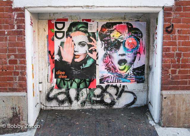 DEEDEE Street art & Dain