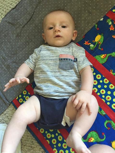 My Little Guy!