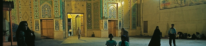 "Iran-Reise Kultur: Schah-Mausoleum in Shiraz, dem ""Garten des Iran"". Foto: Sigi Hupfauer."
