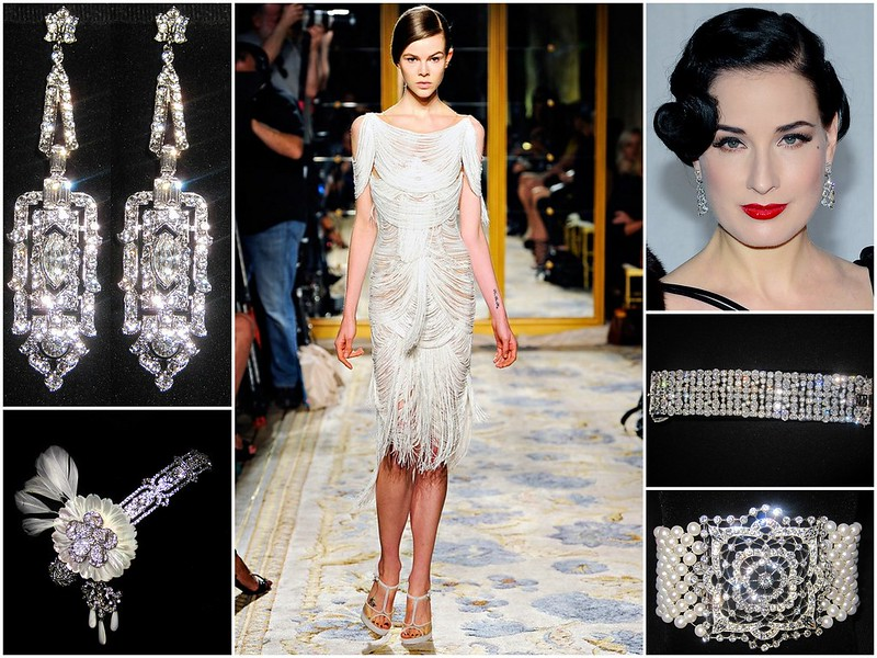 Bridal Styles great Gatsby Inspiration - Flapper
