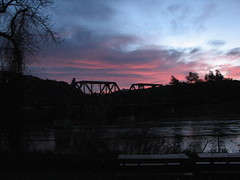 Sunrise at the Russian River
