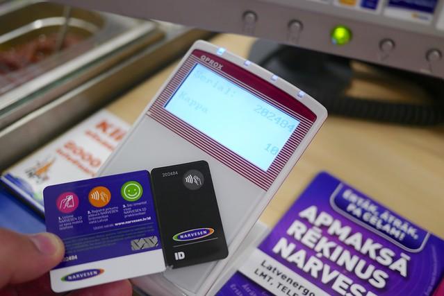 Narvesen NFC ID