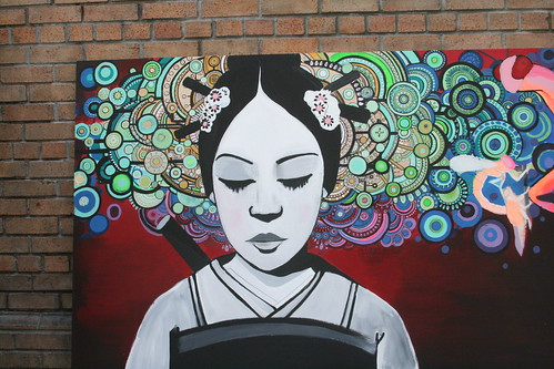 Urban Female Painting