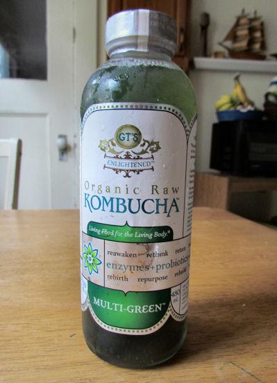 Green Kombucha