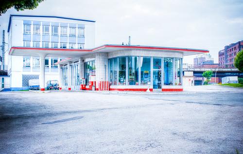 Oldtimer Tankstelle HH #7593