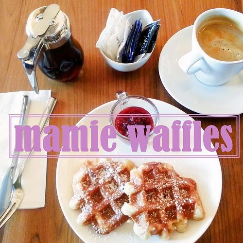 mamie waffles