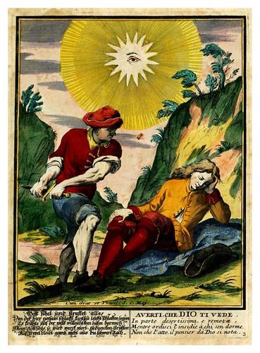 016-Proverbii verificati per l'esperienza cotidiana…1718--Giuseppe Maria Mitelli