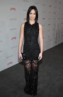 Emily Blunt Sheer Dress Celebrity Style Women's Fashion