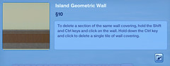 Island Geometrioc Wall 3