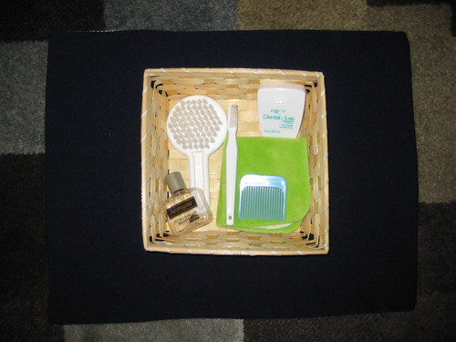 Treasure Basket - Toiletries (Photo from Our Montessori Home)