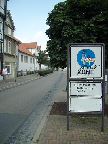 Wolfenbuttel shared ped zones