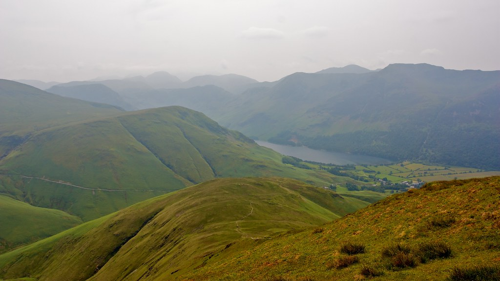 Buttermere from Whiteless Pike