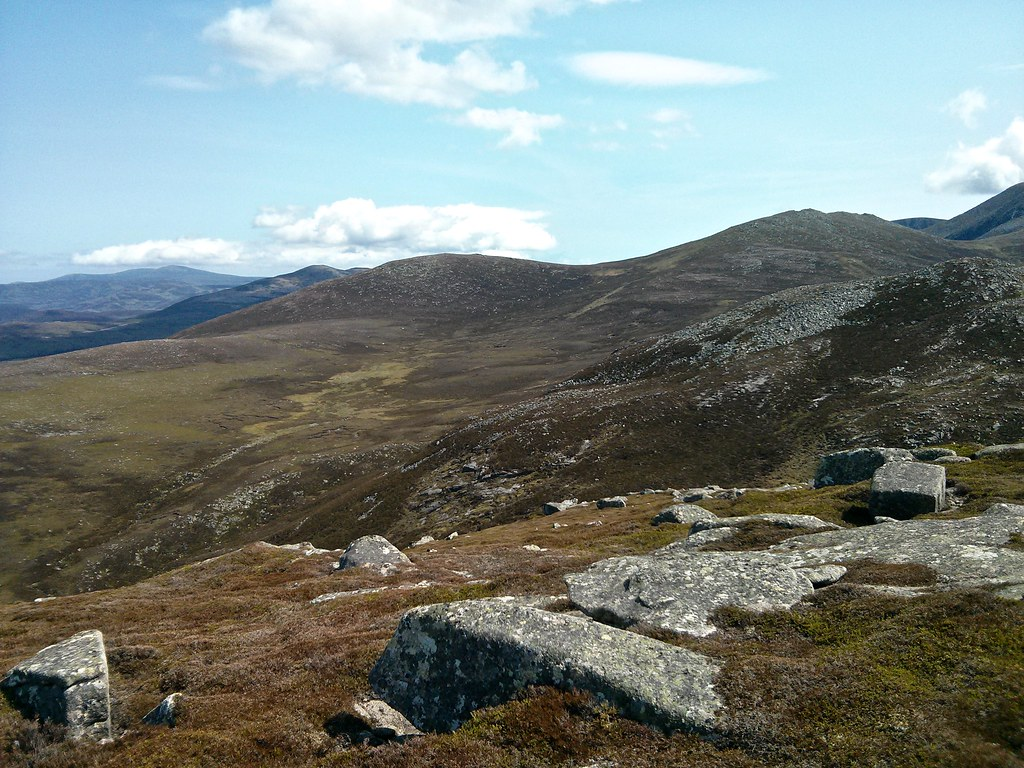 Northern outliers of Lochnagar